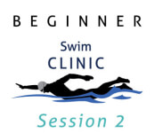 Beginner Swim Clinic - Session 2 July/Aug registration logo