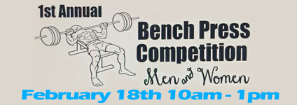 Bench Press Competition Men & Women registration logo