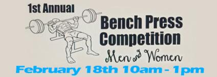 Bench Press Competition Men & Women registration logo