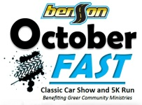 Benson OctoberFAST registration logo