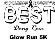 BEST DANG GLOW RUN 5K registration logo