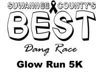 BEST DANG GLOW RUN 5K registration logo