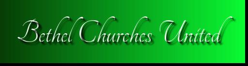 Bethel Churches United Food Pantry 5k  registration logo