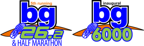 bg26.2 Marathon & Half Marathon registration logo
