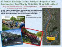 BGOA/Family Chiropractic and Acupuncture Charity 5k / Kids 2k registration logo