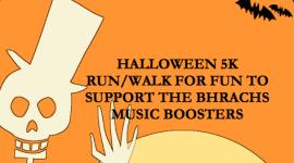 BHRACHS Halloween 5K registration logo