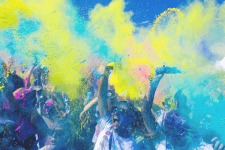 BHS 5k Color Run registration logo