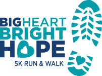 Big Heart Bright Hope 5K registration logo