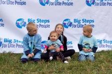 Big Steps for Little People  registration logo