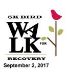 Bird Walk 4 Recovery registration logo