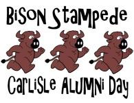 Bison Stampede 5K Fun Run/Walk registration logo