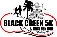 Black Creek 5K/10K registration logo