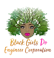 Black Girls Do Engineer Virtual Run Fundraiser registration logo