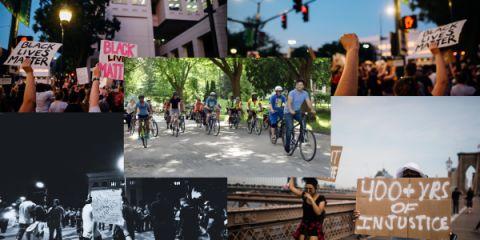 Black Lives Matter Bike Run registration logo