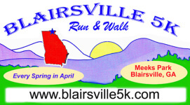 Blairsville 5K Run & Walk registration logo