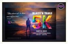Blaize'N Trails-RVA registration logo