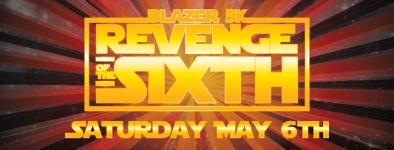 Blazer 5k - Revenge of the Sixth  registration logo