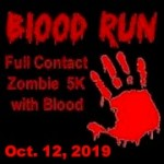Blood Run - Full Contact 5K registration logo