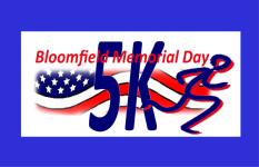 Bloomfield Memorial Day 5K registration logo