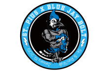 Blue Jay Bolt 5K Run registration logo