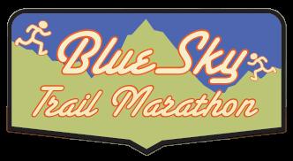 Blue Sky Trail Marathon registration logo