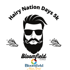 BMS Hairy Nation Days 5k registration logo