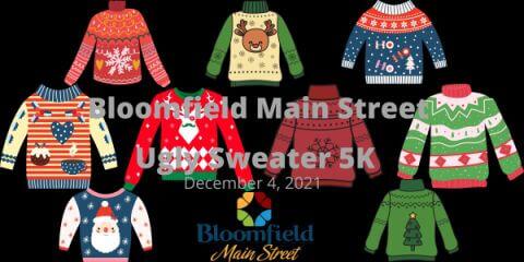 BMS Ugly Sweater 5K registration logo