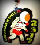 Bobbleheads in Space 5K registration logo