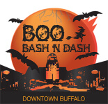 Boo Bash & Dash 5K registration logo