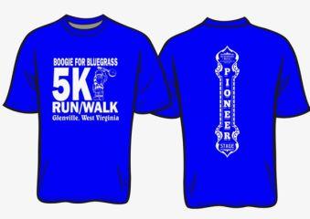 Boogie for Bluerass 5k Run/Walk registration logo