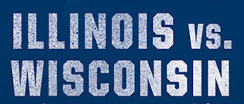 Illinois VS Wisconsin 5K Run/Walk registration logo