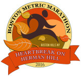 Boston 'Metric' Marathon Boston, NY registration logo