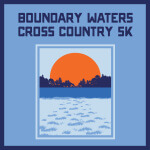 Boundary Waters Cross Country 5k - RRCA Southern Regional Cross Country Championship registration logo