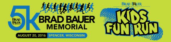 Brad Bauer Memorial 5k & Fun Runs registration logo