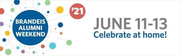 Brandeis Alumni Weekend Virtual 5k registration logo