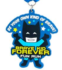 Brave Kid Forever 1/2 Mile, 1M, 5K, 10K registration logo