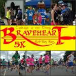 Braveheart 5K registration logo