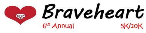 Braveheart Charity Race registration logo