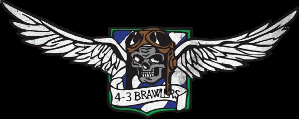 Brawler 5k Color Run registration logo