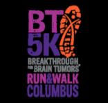 Breakthrough for Brain Tumors Columbus 5K registration logo