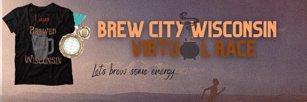 Brew City Wisconsin Virtual Race registration logo