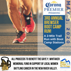 Brewser Boot Camp Run registration logo