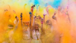 Briarmeadow Color Fun Run registration logo