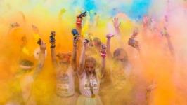 Briarmeadow Color Fun Run registration logo