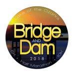 Bridge and Dam Half 2017 registration logo