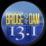 Bridge and Dam Half Marathon and 10K registration logo