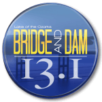 Bridge and Dam Half Marathon and 10K registration logo
