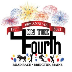 Bridgton 4 on the Fourth  registration logo