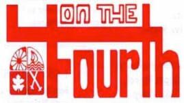 Virtual Bridgton 4 on the Fourth Wednesday, July 1 through Saturday, July 19 registration logo