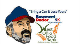 Bring a Can & Lose Yours 5k registration logo